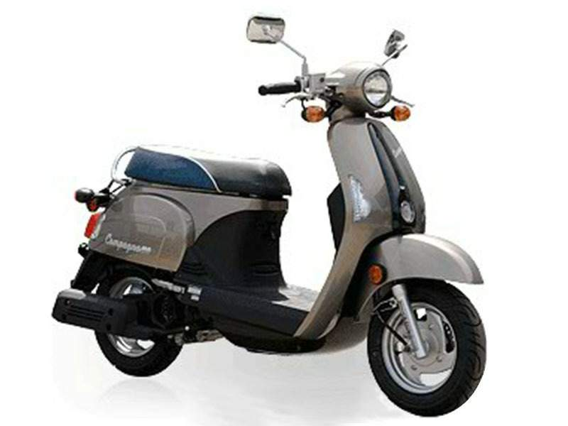 KYMCO Kymco Compagno 110i technical specifications